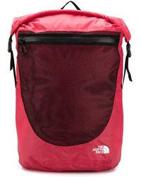 The North Face Waterproof Rugzak - Rood