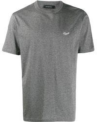 Ermenegildo Zegna T-shirt con ricamo - Grigio