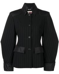 I'm Isola Marras - Pinstripe Fitted Jacket - Lyst