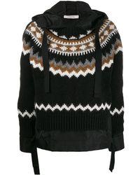 Dorothee Schumacher Knitted Hoody - Black
