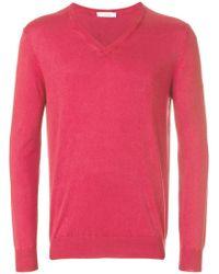 Cruciani   V-neck Sweater   Lyst