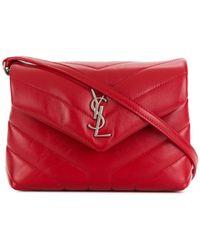 Saint Laurent - Monogram Loulou Shoulder Bag - Lyst