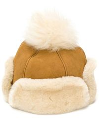 UGG - Shearling-lined Cap - Lyst