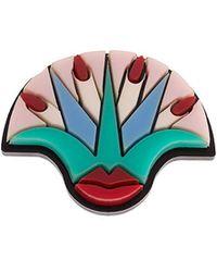 Yazbukey - Lips And Nails Ring - Lyst