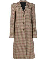 Vivienne Westwood Anglomania Plain Button Coat - Multicolour