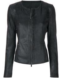 DROMe - Slim-fit Zipped Jacket - Lyst