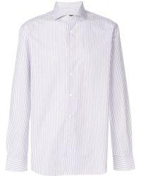 Corneliani - Striped Shirt - Lyst