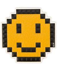Anya Hindmarch 'pixel Smiley' Sticker - Yellow