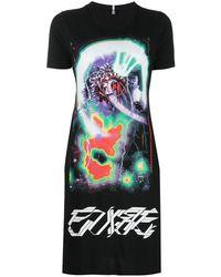McQ Arcade Tシャツワンピース - ブラック