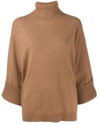 P.A.R.O.S.H. Turtle Neck Sweater - Multicolor