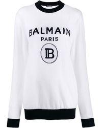 Balmain - femme - Blanc