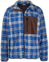 Pleasures Wraith Poodle Polar Fleece ジャケット - ブルー