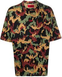424 - カモフラージュ Tシャツ - Lyst