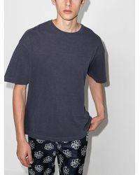 YMC Triple Tシャツ - ブルー