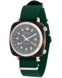 Briston Clubmaster Gmt Horloge - Groen