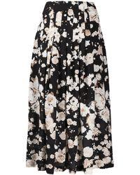 Boutique Moschino - フローラル Aラインスカート - Lyst