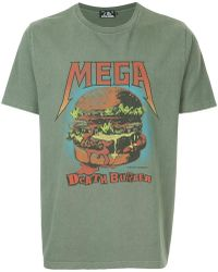 Hysteric Glamour - Mega Death Burger Print T-shirt - Lyst