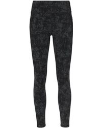Sweaty Betty Zero Gravity Concrete-print Performance leggings - Black