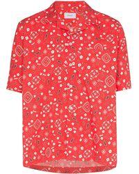 Rhude Hawaiiaans Overhemd - Rood
