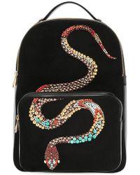 Roberto Cavalli - Snake Embellished Backpack - Lyst