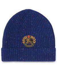 Lyst - Sombrero de pescador de jeans Miu Miu de color Azul 0fadf81512b