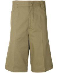 Lanvin - Pantalones chinos cortos casuales - Lyst