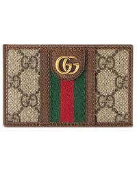 Gucci - Картхолдер Ophidia GG - Lyst