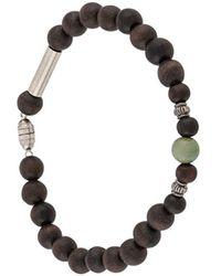 DSquared² Pull-on Beaded Bracelet - Brown