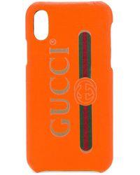 Gucci - ロゴ Iphone X ケース - Lyst