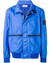 Stone Island Легкая Куртка - Синий