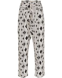 Figue - Portia Printed Trousers - Lyst