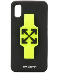 Off-White c/o Virgil Abloh Arrows Iphone Xs Case - Black