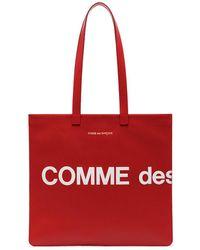 Comme des Garçons - Сумка-тоут С Логотипом - Lyst