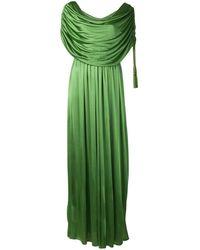 Lanvin - ドレープ ドレス - Lyst