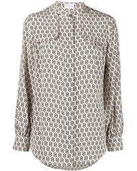 Ferragamo Рубашка С Принтом Gancini - Многоцветный