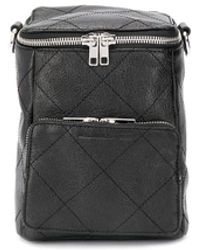 McQ Loveless Medium Convertible Backpack - Black