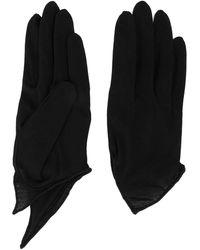 Yohji Yamamoto Technorama Handschuhe - Schwarz