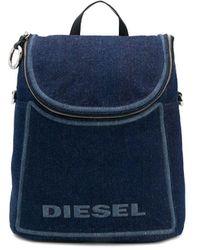 DIESEL - Convertible Denim Backpack - Lyst
