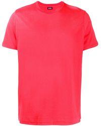 DIESEL ダブルヘム Tシャツ - ピンク