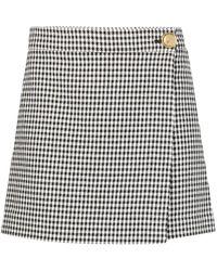 Pinko ハウンドトゥース スカート - ブラック