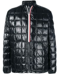 8b3de54c5 Quilted Collarless Jacket - Black
