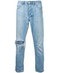 EX Infinitas - Classic Slim Cropped Jeans - Lyst
