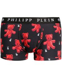 Philipp Plein テディベア ブリーフ - ブラック