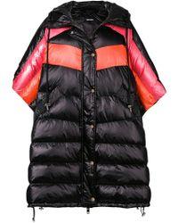 DIESEL Padded Oversized Coat - Black