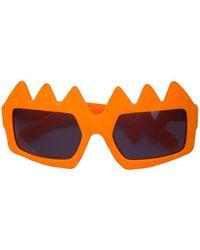 Walter Van Beirendonck X Fakbyfak Sunglasses - Orange