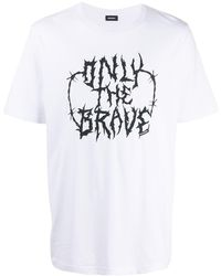 DIESEL Only The Brave Tシャツ - ホワイト