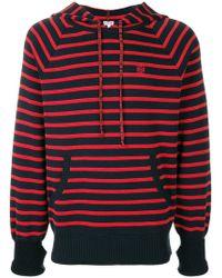 Loewe Striped Hoodie - Black