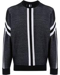 Neil Barrett - コントラストストライプ セーター - Lyst