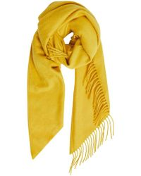 Burberry - Classic Embroidered Scarf - Lyst