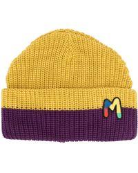 M Missoni Шапка Бини С Вышитым Логотипом - Пурпурный